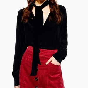Topshop Pussybow Blouse